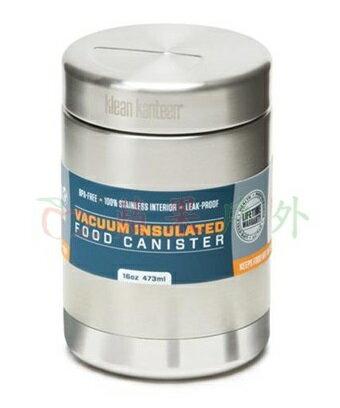 【【蘋果戶外】】Klean kanteen K16VCANSSF 【食物罐/16oz/473ml】美國 不銹鋼雙層真空保溫食物罐