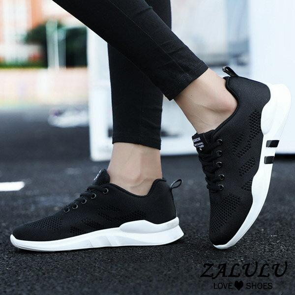 7ID096 預購 網美推薦款舒適休閒布鞋-黑 / 灰 / 粉-36-40【ZALULU愛鞋館】 5