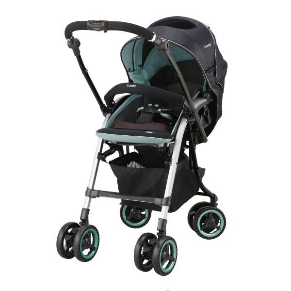 小奶娃婦幼用品:Combi康貝-NemurieUF800雙向嬰兒手推車-寧靜綠
