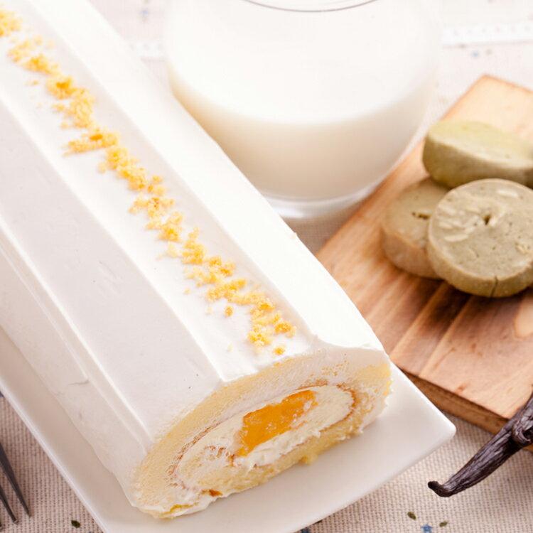 Color C'ode 凱莉小姐 夏日清新芒果卡士達捲  /  農場新鮮殼蛋產地直送 / 蛋糕體柔軟細緻的特殊工法 2