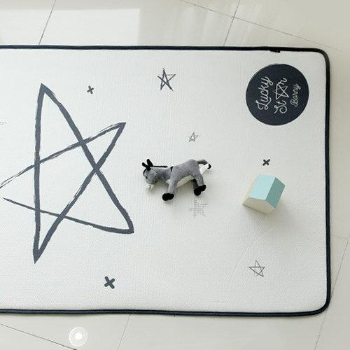 【2020新款上市】韓國 Borny 3D立體透氣嬰兒床墊(幸運星)(L號130x70cm)