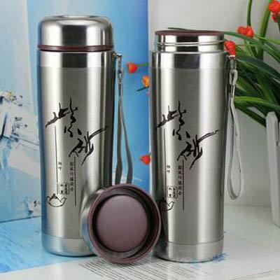 【紫砂杯保溫杯-400ML-1個/組】帶紫砂杯 保溫杯 禮品杯子廣告杯定做 水杯茶杯口杯-7270702