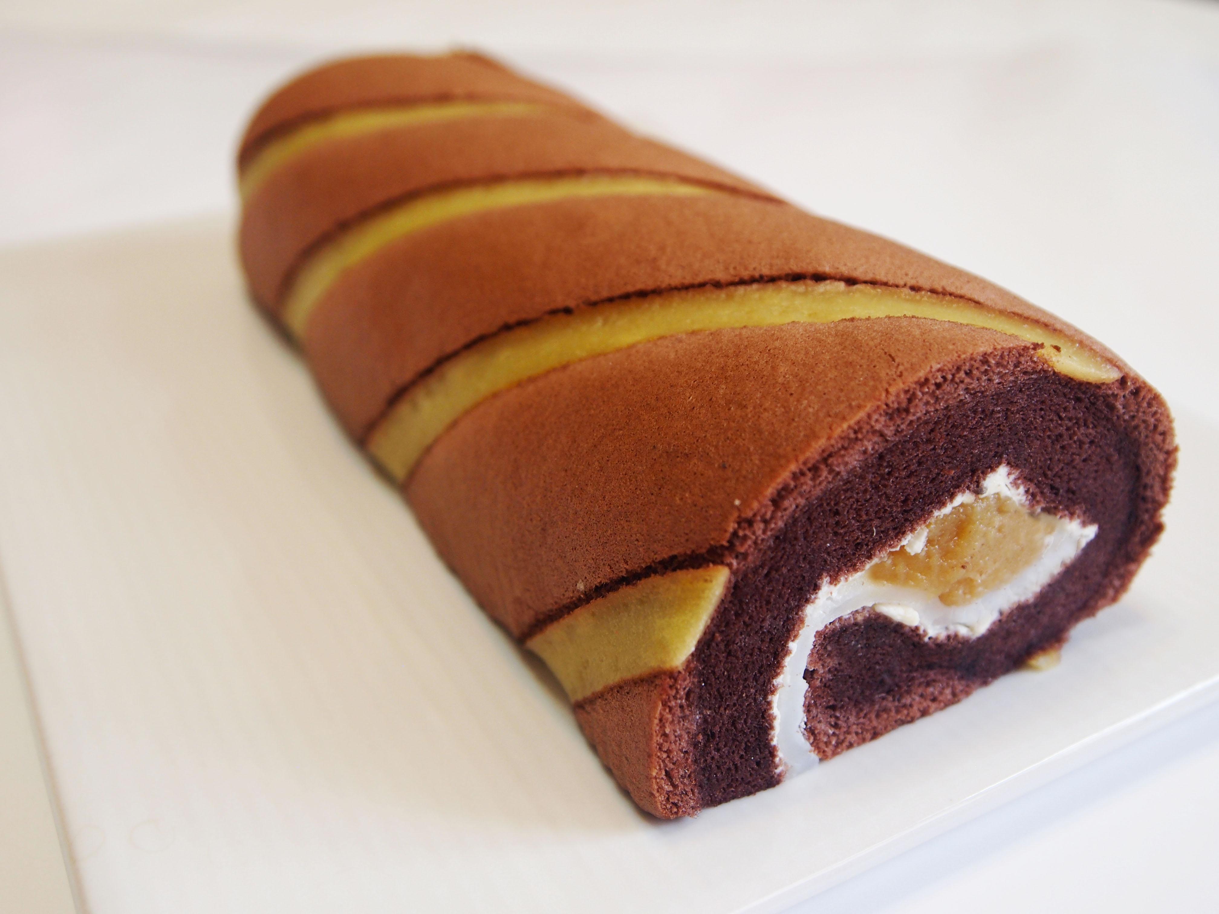 地瓜麻糬可可捲,彌月蛋糕禮盒推薦|高雄伴手禮名店|團購美食|地瓜泥X可可蛋糕X日式麻糬