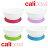 美國 CaliBowl 專利防漏防滑幼兒學習吸盤碗(藍色)單入附蓋 12oz*夏日微風* 1