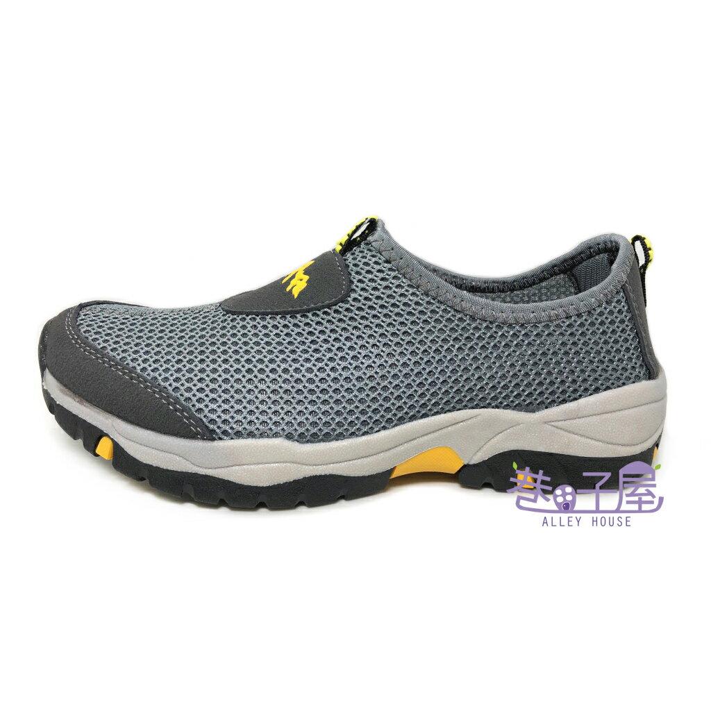【限量回饋】Wenies PoLo 男款大網透氣套入式運動休閒鞋 方便鞋 懶人鞋 [6138] 灰 超值價$298