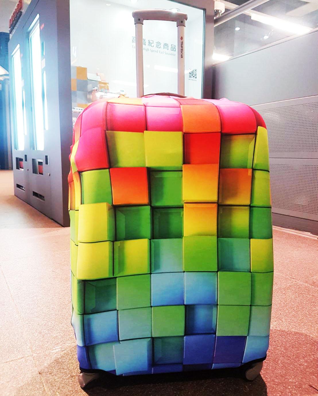 【Is Marvel】3D緩衝防撞 行李箱套《預購》