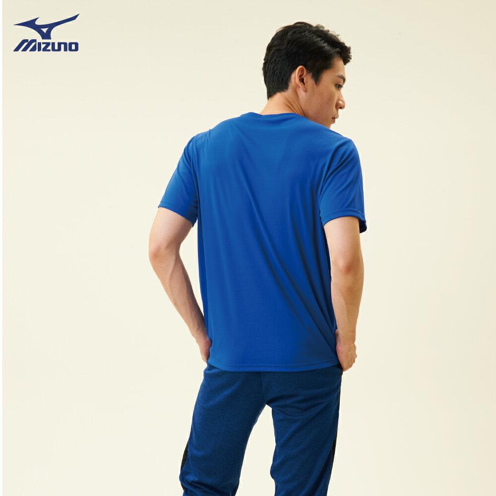 32TA800522(深藍)熱遮蔽布料 男短袖T恤【美津濃MIZUNO】 4