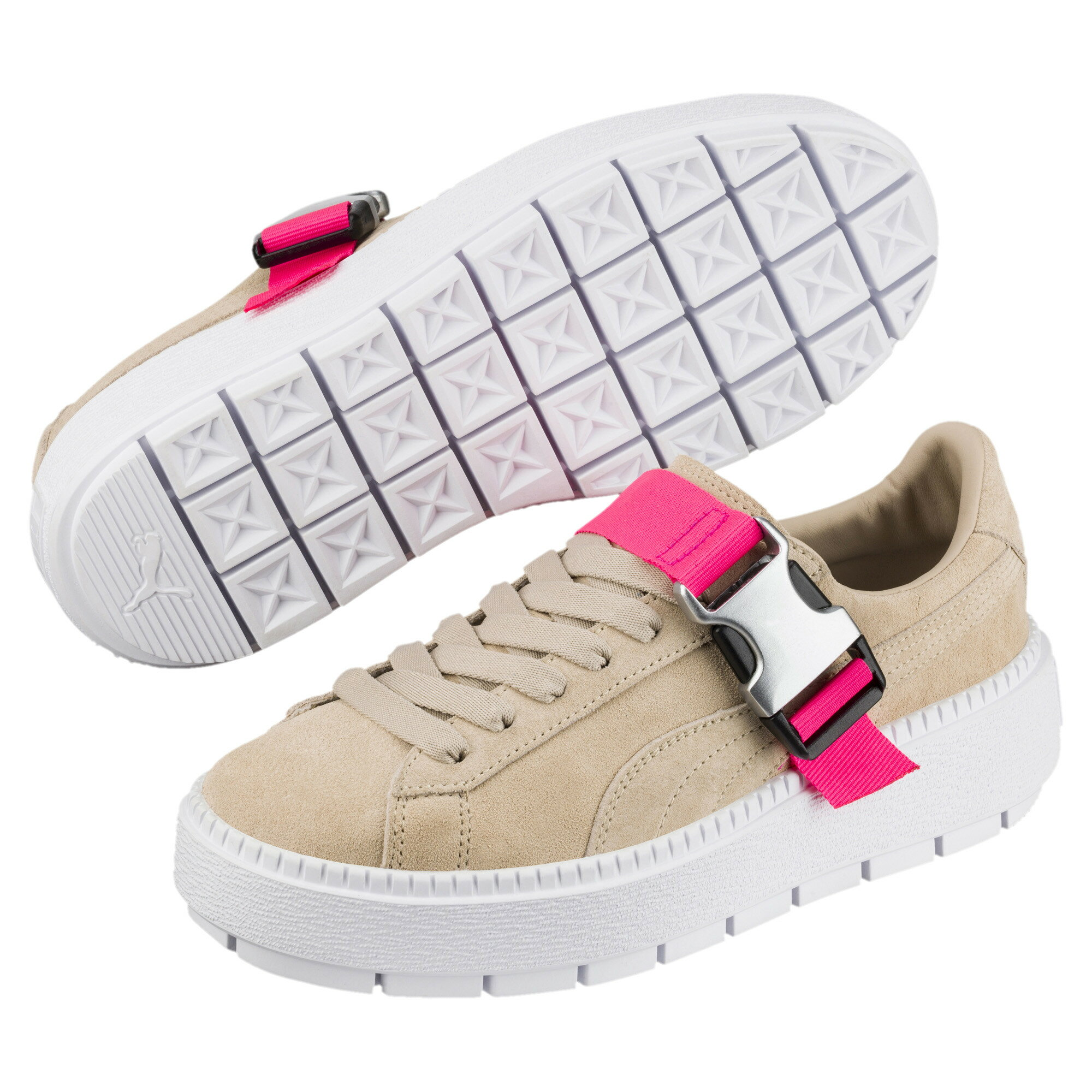 51c68ef18738 Official Puma Store  PUMA Platform Trace Buckle Women s Sneakers ...