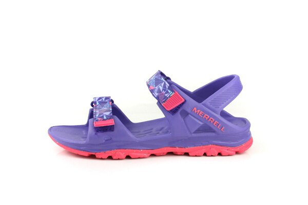 MERRELL 涼鞋 紫色 大童 no055 5