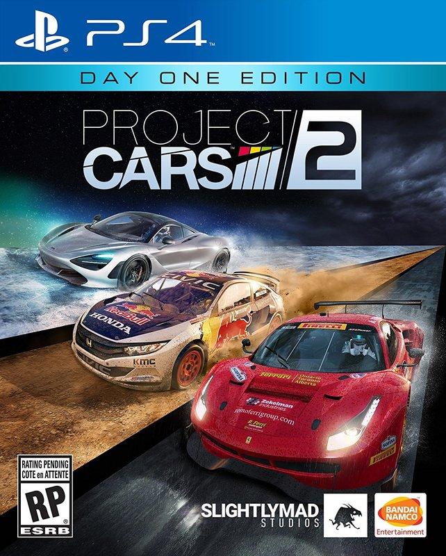 [現金價] 預購2017/9/8 PS4 賽車計畫 2 Project Cars 2 繁體中文版