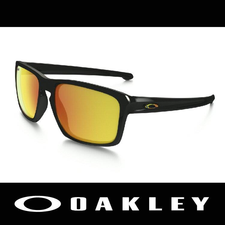 【新春滿額送後背包!只到2/28】美國 OAKLEY 太陽眼鏡 SLIVER ROSSI聯名款 VR46 黑鏡框 鍍銥鏡片 休閒款 OO9262-27 萬特戶外運動