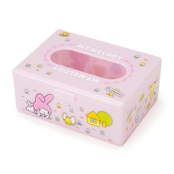 【真愛日本】18062300035桌上迷你面紙盒-MM粉ACS美樂蒂Melody面紙盒小物收納衛生紙盒