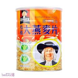 【QUAKER 桂格】 即沖即食大燕麥片1100g x6罐