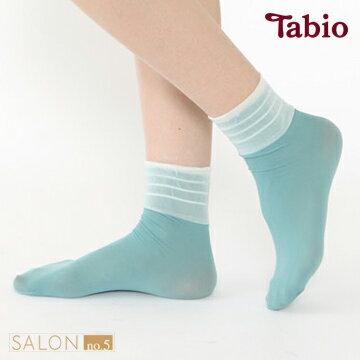 靴下屋Tabio薄紗拼接短襪