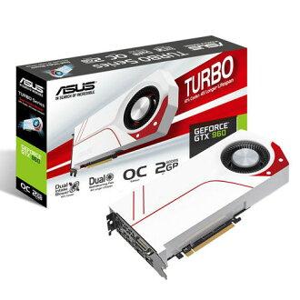 【ASUS 華碩】TURBO-GTX960-OC-2GD5高性能顯卡