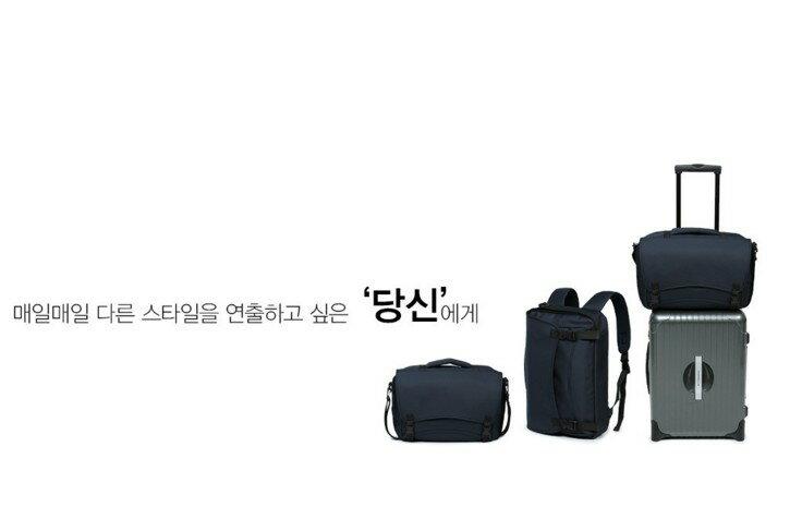 韓國4用包 後背 肩背 飛機包 託運包 功能筆電包 022-9729 1