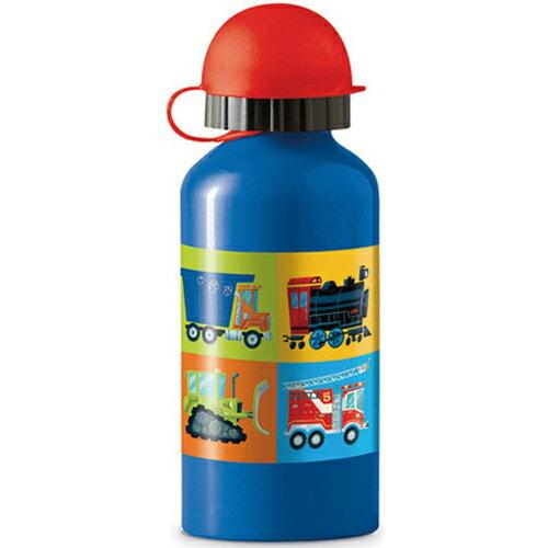 ★衛立兒生活館★美國Crocodile Creek 環保兒童不鏽鋼水瓶/水壺-工程世界