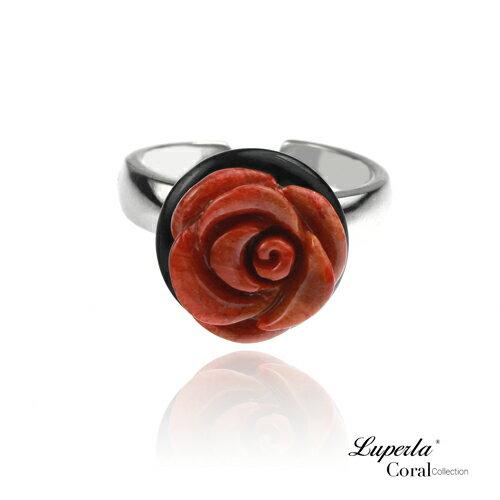 大東山珠寶 luperla:大東山珠寶天然玫瑰珊瑚之戀珊瑚戒指活圍