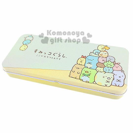 〔小禮堂〕角落生物 鐵製筆盒《黃.堆疊》增添學童學習樂趣