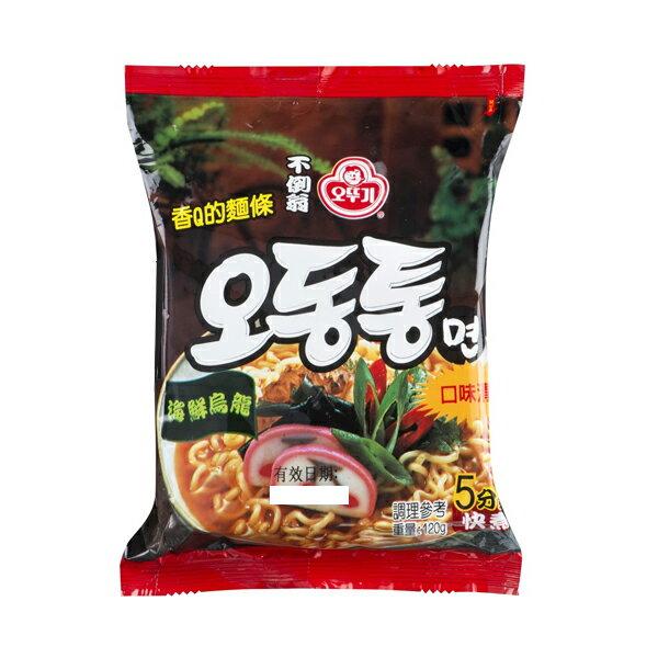 【豆嫂】 韓國泡麵 OTTOGI不倒翁 海鮮風味烏龍拉麵(單包)