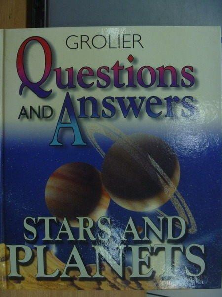 【書寶二手書T9/科學_XDR】Questions and answers_Stars and planets