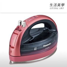 嘉頓國際 日本進口 Panasonic【NI-WL604】蒸汽熨斗 1400W 持續180秒 充電底座 自動關機 NI-WL603 新款