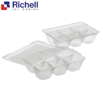 Richell日本利其爾 離乳食連裝盒50ml