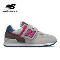 New Balance 美國慢跑鞋/跑步鞋推薦【New Balance】 復古鞋/童鞋_中性_淺灰_YV574JGO-W楦