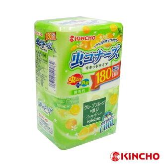 【日本金鳥】液體防蟲180天(芳香消臭+驅蟲二合一)/葡萄柚香400ml