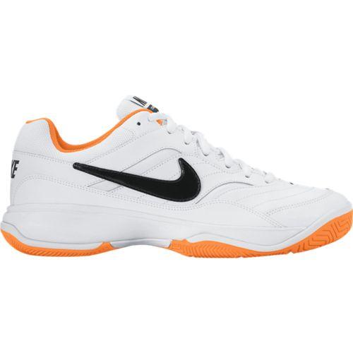 《限時特價↘7折免運》NIKE COURT LITE 男鞋 網球 皮革 白 橘 【運動世界】 845021-101