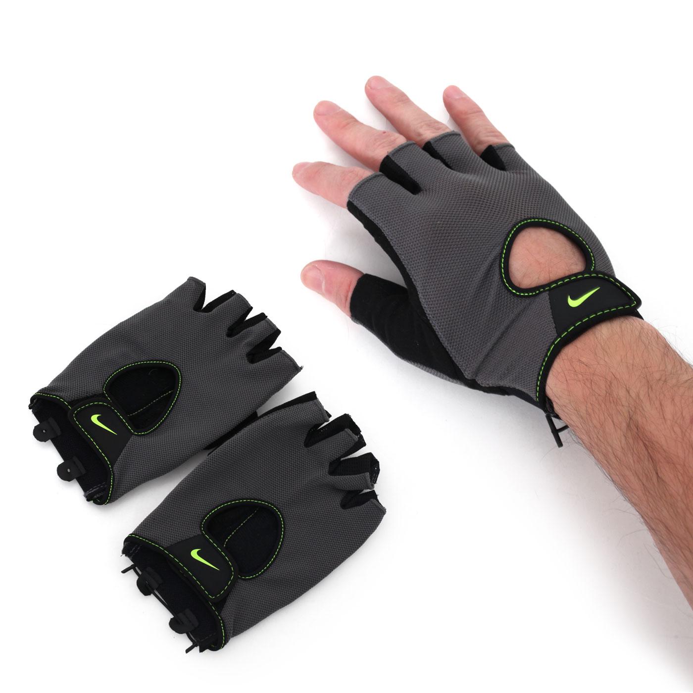 NIKE 男基礎健力手套(重量訓練 健身 防滑【98250233】≡排汗專家≡