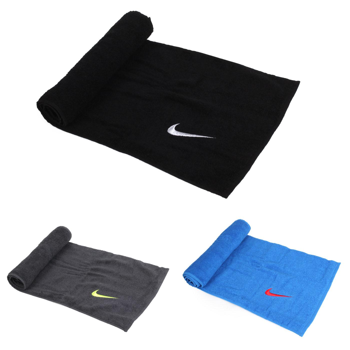 NIKE 日系盒裝長型毛巾(慢跑 路跑 游泳 浴巾【98341392】≡排汗專家≡