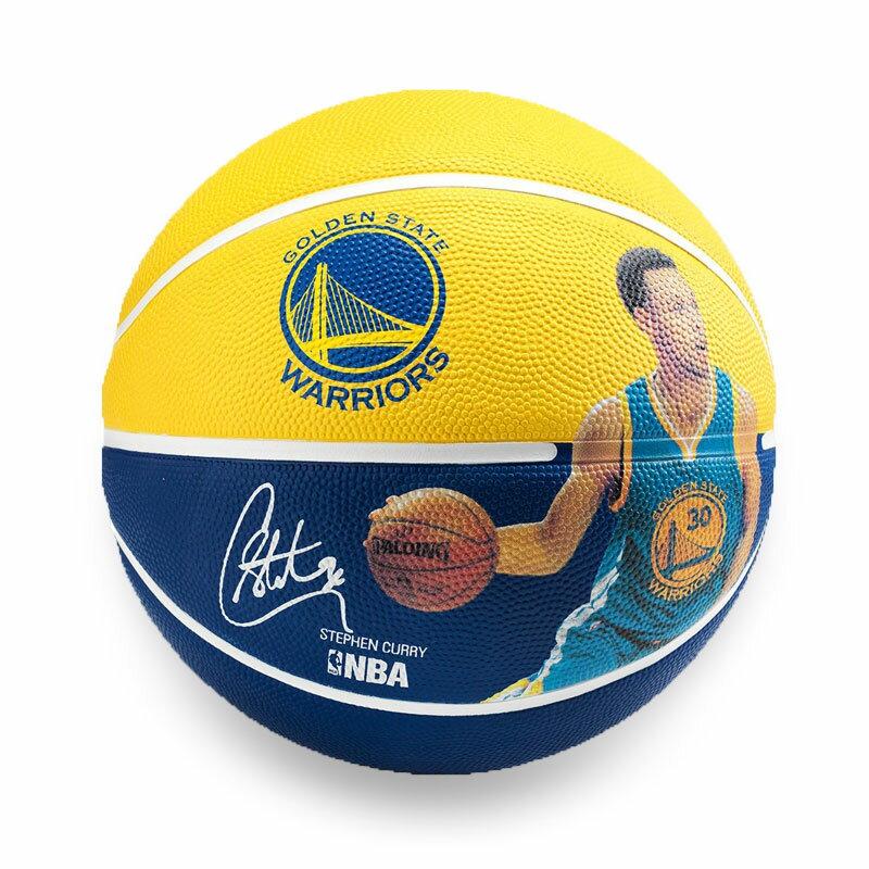 SPALDING 勇士-柯瑞 Stephen Curry #7 籃球(斯伯丁 七號球 NBA【99301435】≡排汗專家≡
