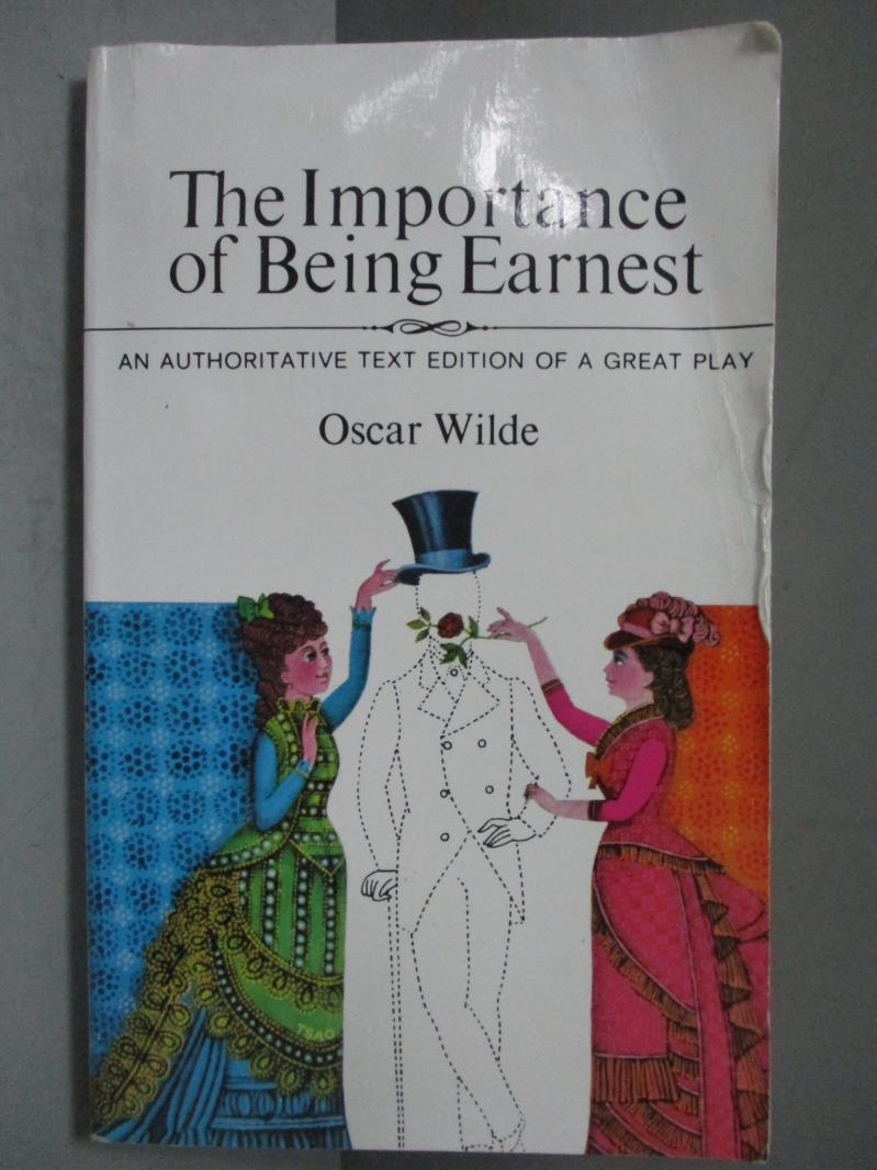 ~書寶 書T1/藝術_NEN~Importance of Being Earnest_Wi