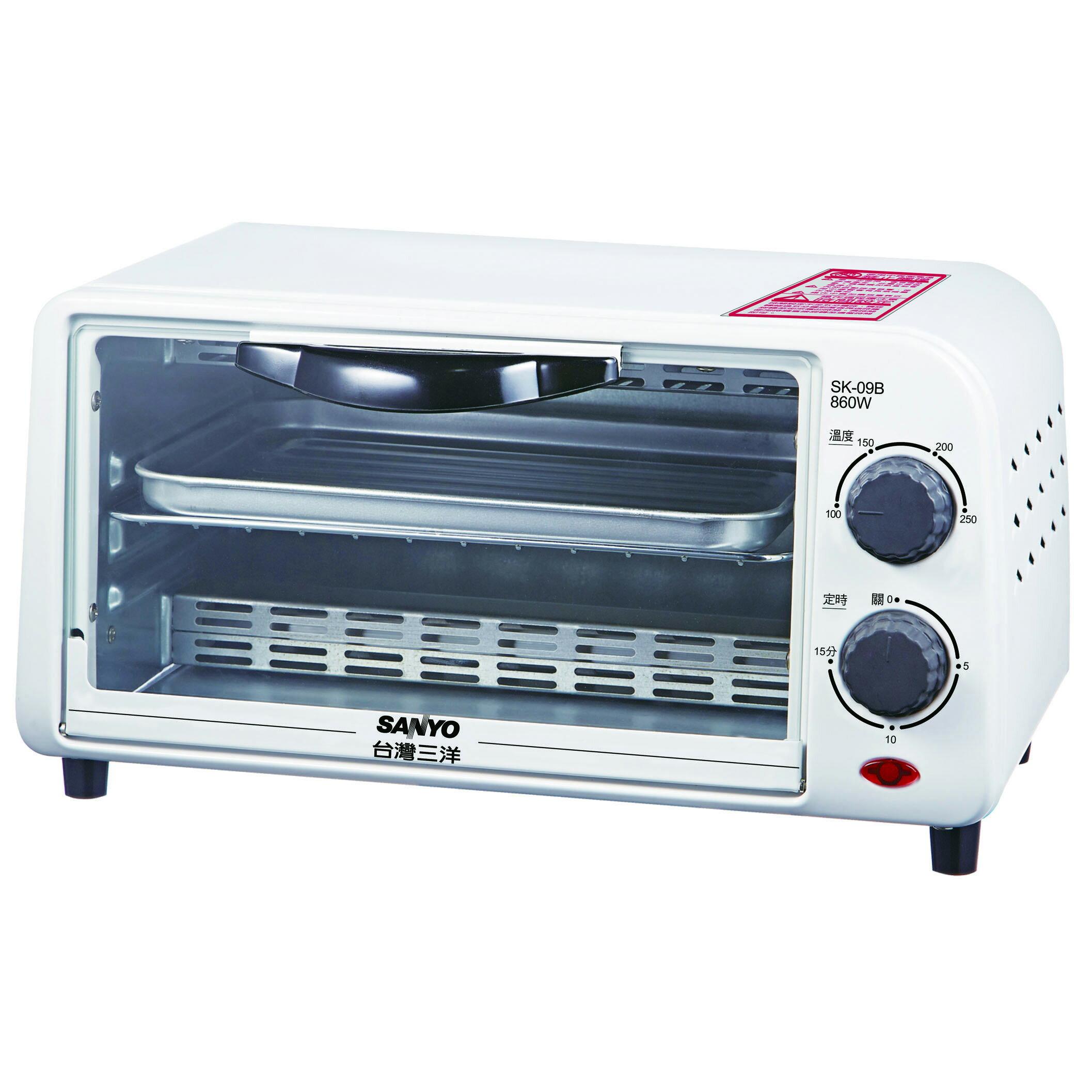三洋 SANYO 9L電烤箱 SK-09B