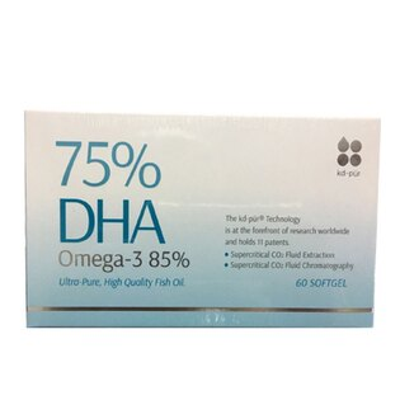 MAYs 美生藥粧本舖:【超博士DHA75%】深海魚油60顆軟膠囊盒