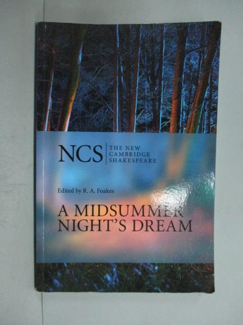~書寶 書T7/原文小說_ZBC~A Midsummer Night's Dream_Sh