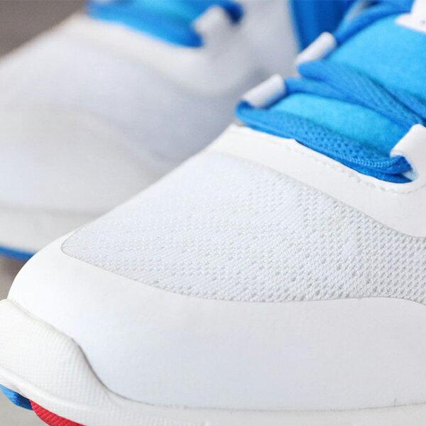 《限時特價799元》Shoestw【63W1VE62RB】PONY 復古慢跑鞋 休閒鞋 網布 透氣 水藍白紅 俄羅斯 女生 2