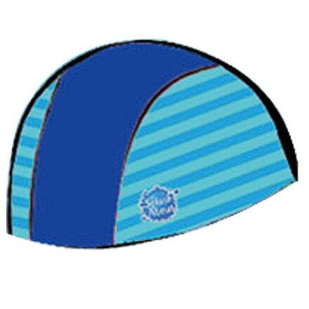 【悅兒樂婦幼用品館】Splash About 潑寶 UV Swim Hat 抗UV泳帽-?藍/珊瑚綠條紋
