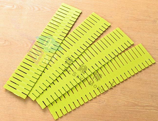 【省錢博士】抽屜隔板自由突破分類組 / 合伸縮收納格 / 內衣抽屜整理分隔板4個裝  49元