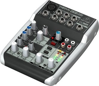 Behringer XENYX Q502 USB Interface 迷你錄音介面 混音器