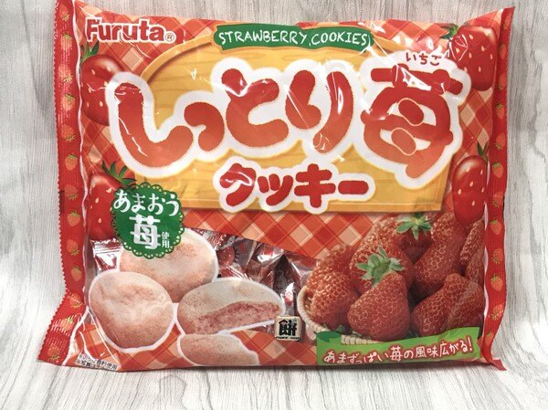 古田香濃草莓餅乾220g包