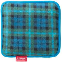 ├登山樂┤美國 Coleman 刷毛毯 (綠格紋) 抱枕毯 車用毯 # CM-21168