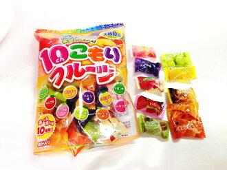 有樂町進口食品 日本 立夢 水果糖 10種口味 每顆都美味 J50 4903316442068