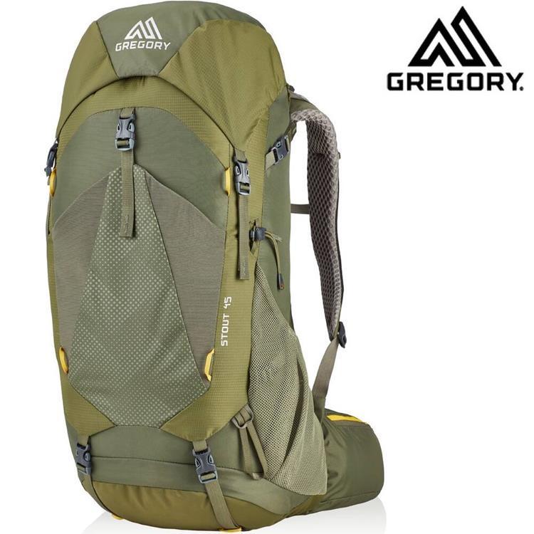 Gregory 後背包/登山背包/郊山背包 Stout 45 登山包45升 126872 茴香綠 1333