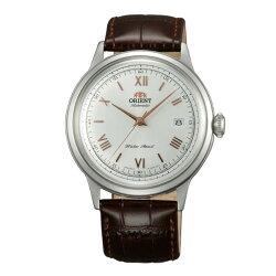 Orient 東方錶 FAC00008W DATE Ⅱ機械腕錶錶/白X玫40.5mm