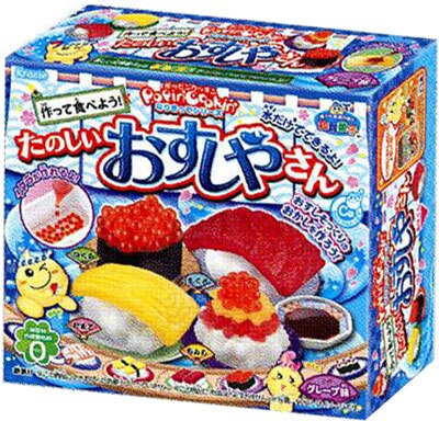 有樂町進口食品 kracie 知育果子 壽司手工糖果 J90 4901551353842