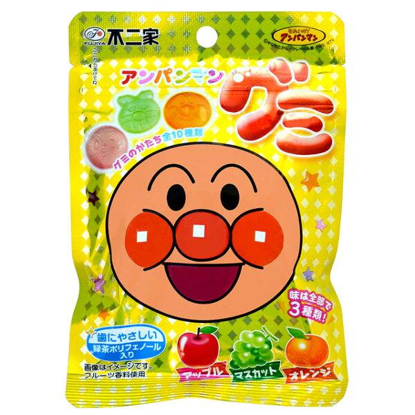 【FUJIYA不二家】麵包超人綜合果汁QQ糖50g造型水果軟糖日本進口零食
