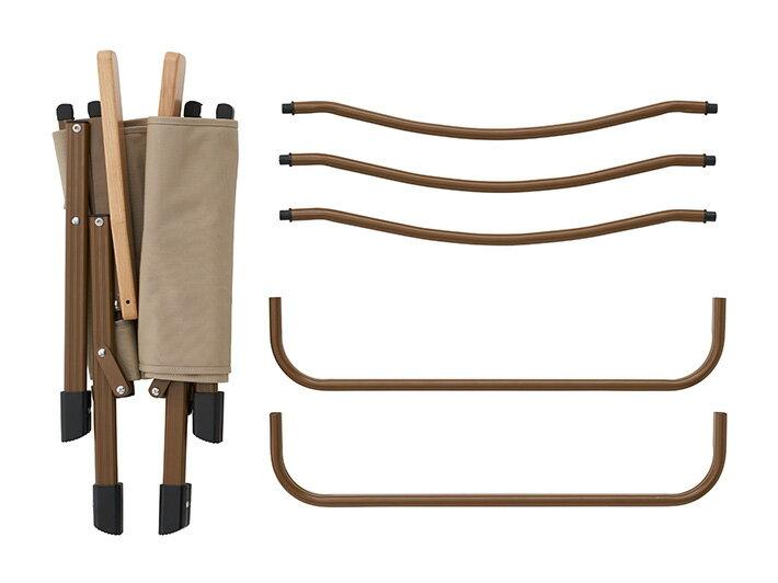 《愛露愛玩》【LOGOS】組立式輕量椅 寬敞舒適的低腳椅 #73173087