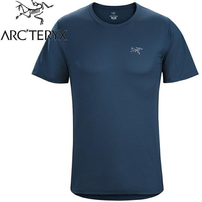 Arcteryx 始祖鳥/登山排汗衣/圓領短袖排汗衣 透氣快乾 12082 Accelerator 男款 黑